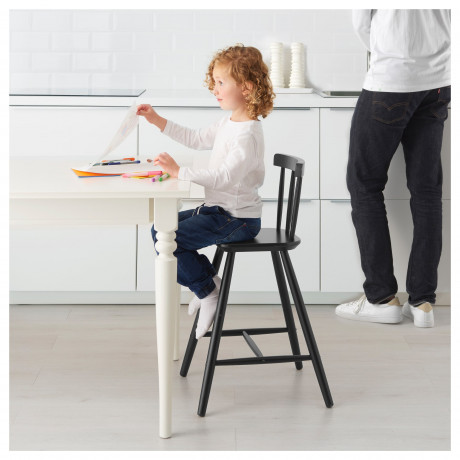Детский стул АГАМ черный фото 4