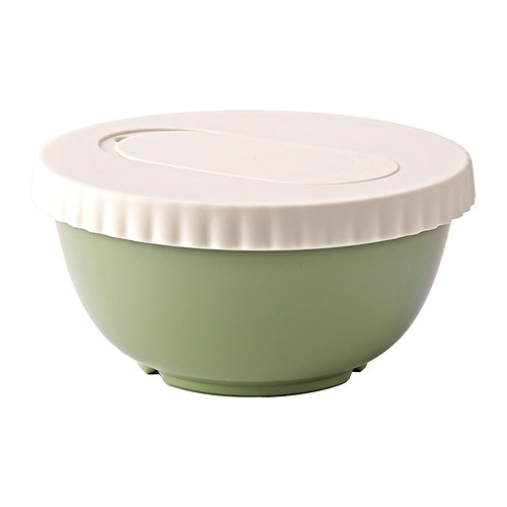 Миска с крышкой АЛЛЕХАНДА зеленый  фото 1